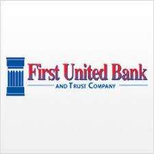 Image result for first united bank, madisonville, logo